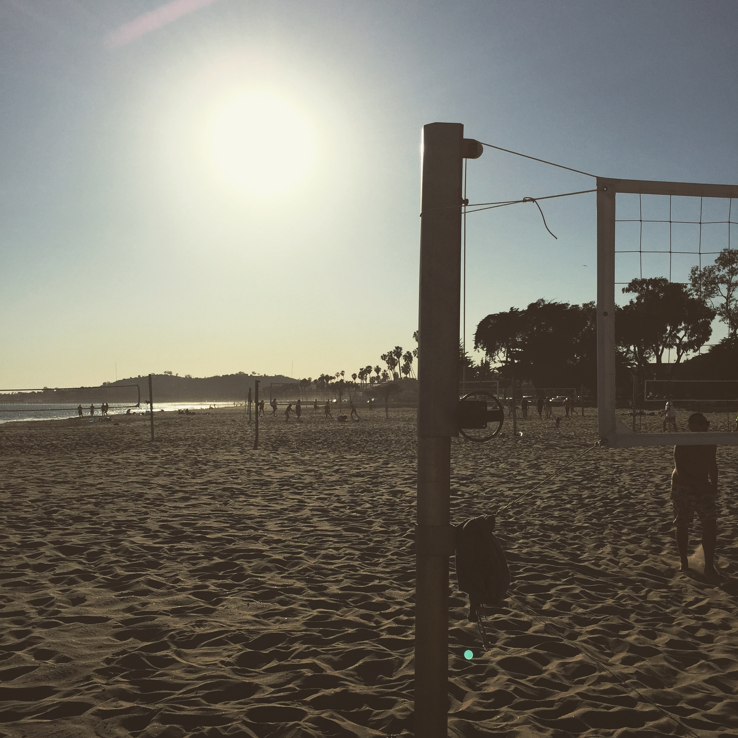 East Beach volleyball